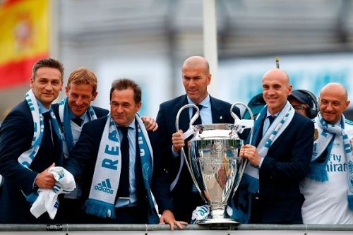 Zizou stepped down as Real Madrid's coach