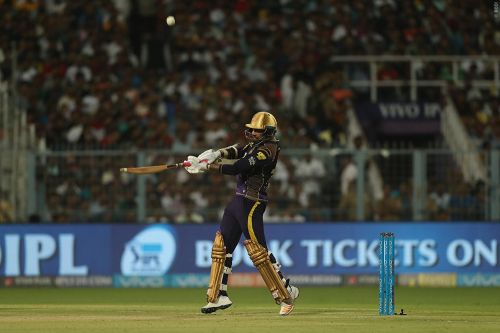 Sunil Narine hit 21 runs in