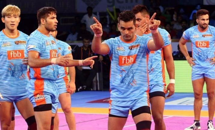 pro kabaddi league auction 2018 full list of players bought by