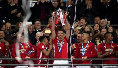 Carrick won a lot of trophies for United