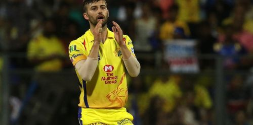 Mark Wood played just one game for CSK
