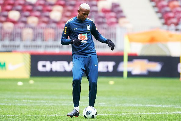 Brazil National Football Team Training Session In Moscow