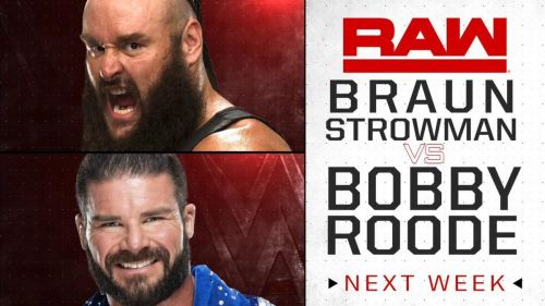Bobby Roode goes one on one with Braun Strowman