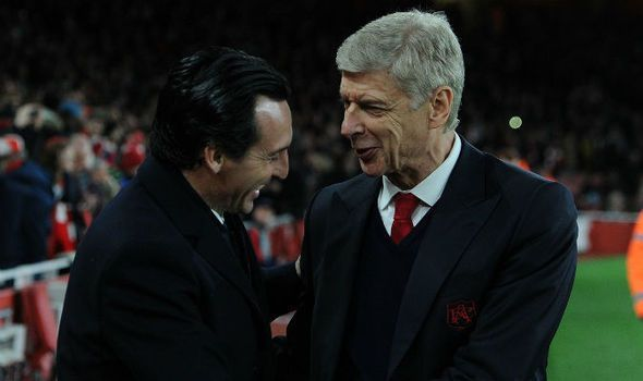 Image result for wenger emery