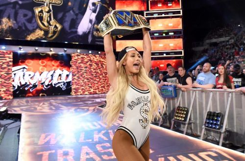 Carmella asserts her happiness at winning the WWE SmackDown Women's Championship