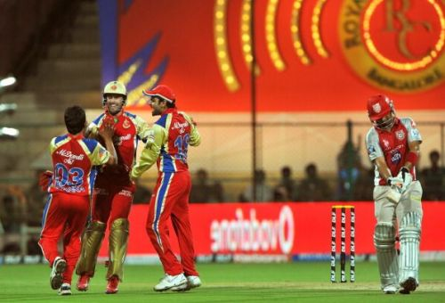 Royal Challengers Bangalore players cele