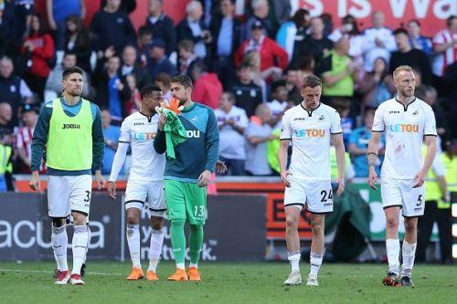 Swansea City v Stoke City - Premier League