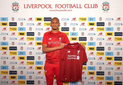 Liverpool Unveil New Signing Fabinho