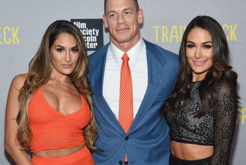 Nikki and Brie Bella had words of high praise for John Cena