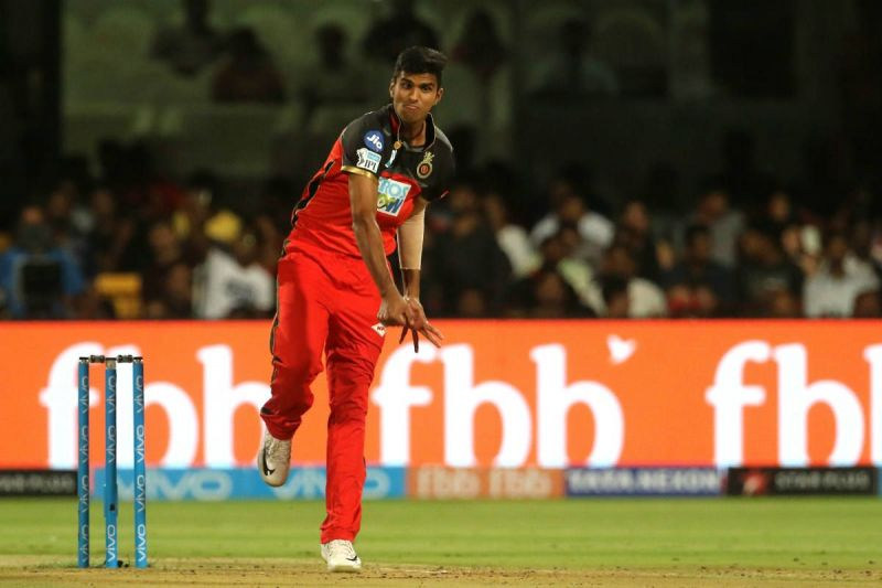 washington sundar for RCB