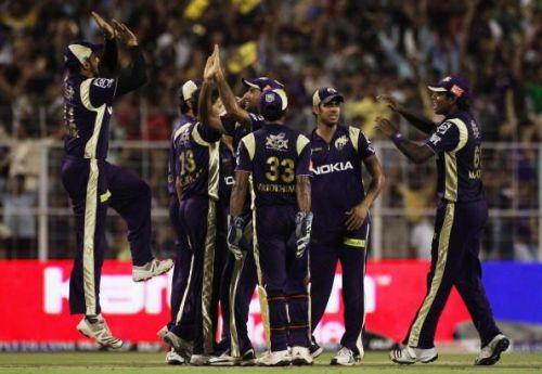 Kolkata Knight Riders v Deccan Chargers - IPL