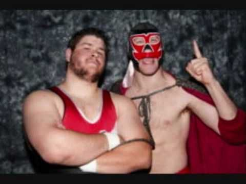 Kevin Steen (now Kevin Owens) and El Generico (now Sami Zayn) during their time in Ring Of Honor
