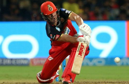 AB de Villiers playing the Dilscoop