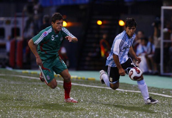 Sergio Aguero played in two U-20 World Cups