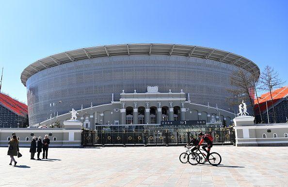 2018 FIFA World Cup venues: Yekaterinburg Arena Stadium