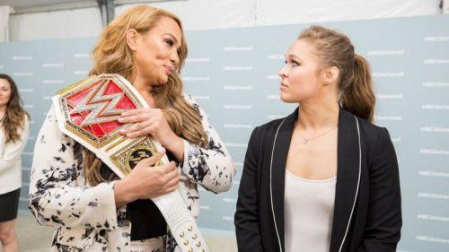 Nia Jax, Ronda Rousey,