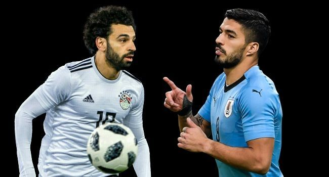 World Cup 2018 Egypt vs Uruguay