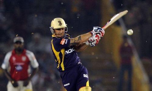 Kolkata Knight Riders batsmen Brendon Mc