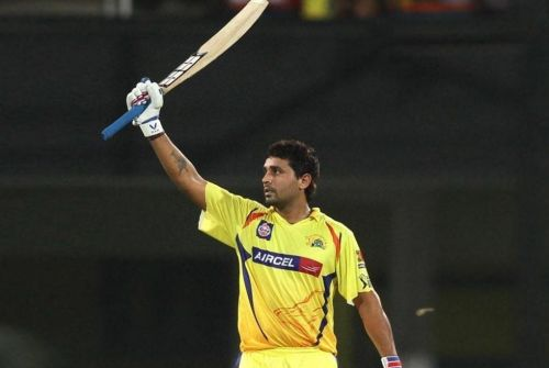 Vijay just played the solitary match for the Super Kings