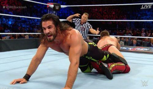 Seth Rollins vs. The Miz Backlash 2018