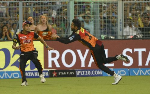 In this season, Fielding is the only valuable contribution from Manish Pandey