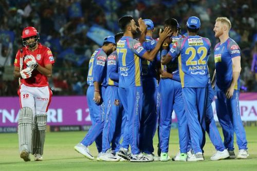 Rajasthan Royals v Kings XI Punjab - IPL T20 Match