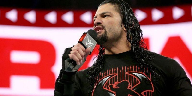 Roman Reigns Raw April 30th