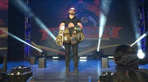 'The Belt Collector' is confirmed to appear at the next big Impact Wrestling event