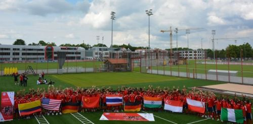 India among all the participating teams at the Bayern Munich Youth World Cup.