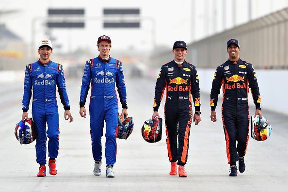 f1 drivers line up 2019 - car design today •