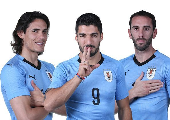 7fb6544ee World Cup 2018  Uruguay Team vs Egypt