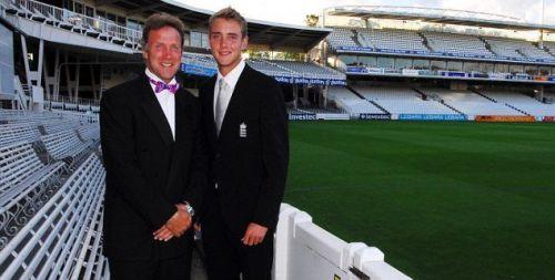 Stuart and Chris Broad