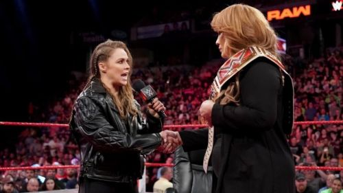 Ronda Rousey could be main eventing WWE shows in the future