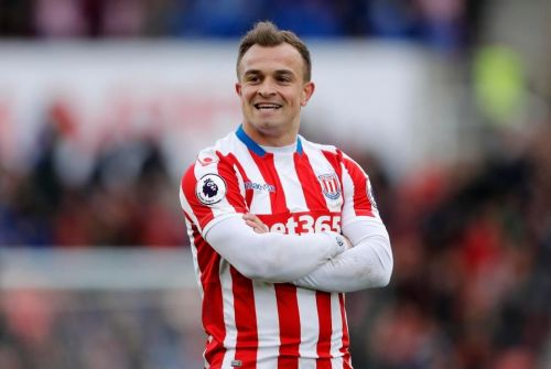 Shaqiri was close to completing a move to Liverpool in 2014