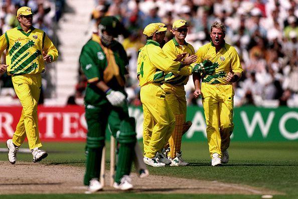 Cricket - ICC World Cup - Semi Final - South Africa v Australia