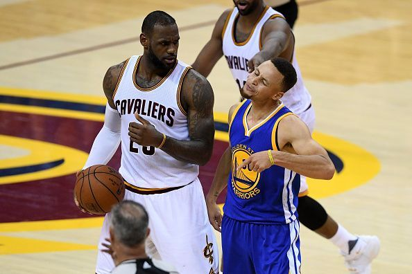 3155d93b856e NBA Finals  Top 10 Moments of the Warriors-Cavs Rivalry
