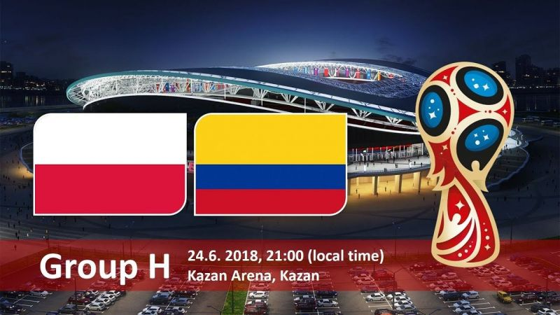 Image result for Colombia vs Poland FIFA World Cup 2018 pic