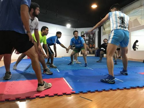 La Plata has the only kabaddi mat in Argentina.