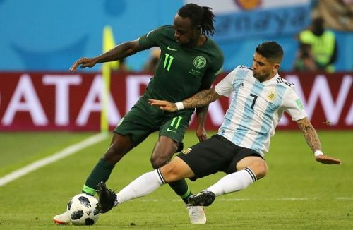 2018 FIFA World Cup Group Stage: Nigeria vs Argentina