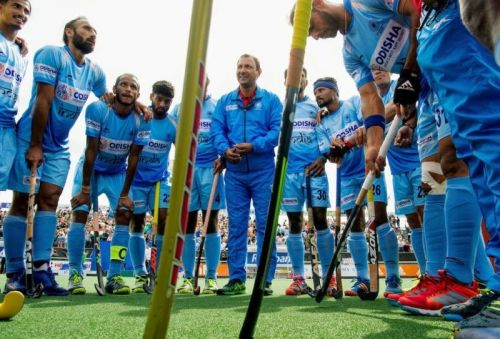 India scored an early goal through a penalty corner conversion by Harmanpreet Singh
