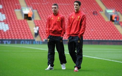 Aspas and Alberto have a combined total of 1 goal and 2 assists for Liverpool
