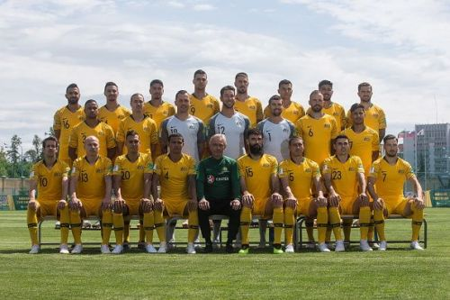 2018 FIFA World Cup: Australia training session
