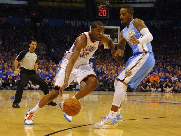 Denver Nuggets v Oklahoma City Thunder - Game One