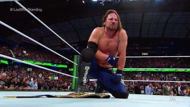 AJ Styles vs. Shinsuke Nakamura Money in the Bank