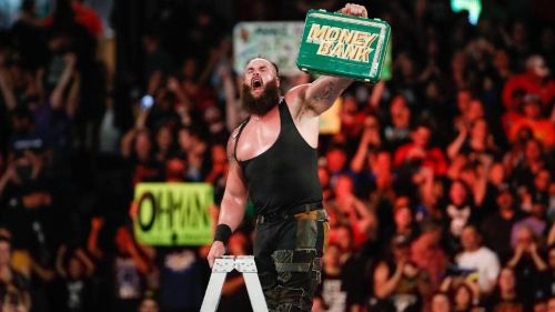 Image result for braun strowman money in the bank