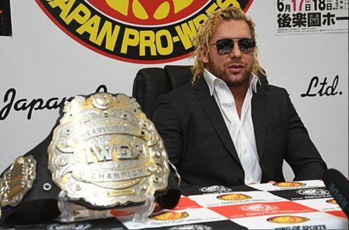 New IWGP Heavyweight Champion Kenny Omega