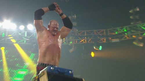 Kane won the match and cashed-in on the same night to become the Champion (2010).