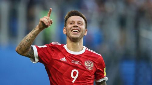 Fedor Smolov will be key to Russia's chances in front of goal