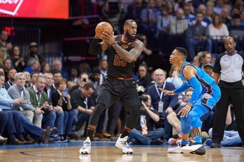 Oklahoma City Thunder vs Cleveland Cavaliers