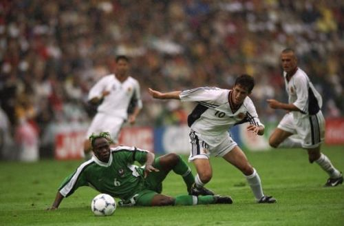 Raul and Taribo West